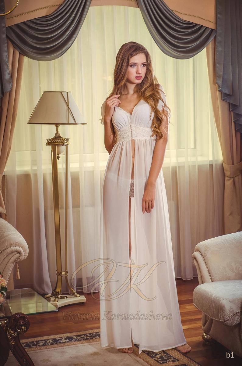 Budoárové šaty Victoria Karandasheva b1
