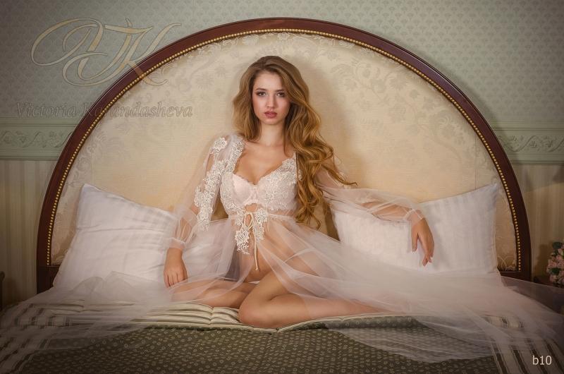 Будуарное платье Victoria Karandasheva b10