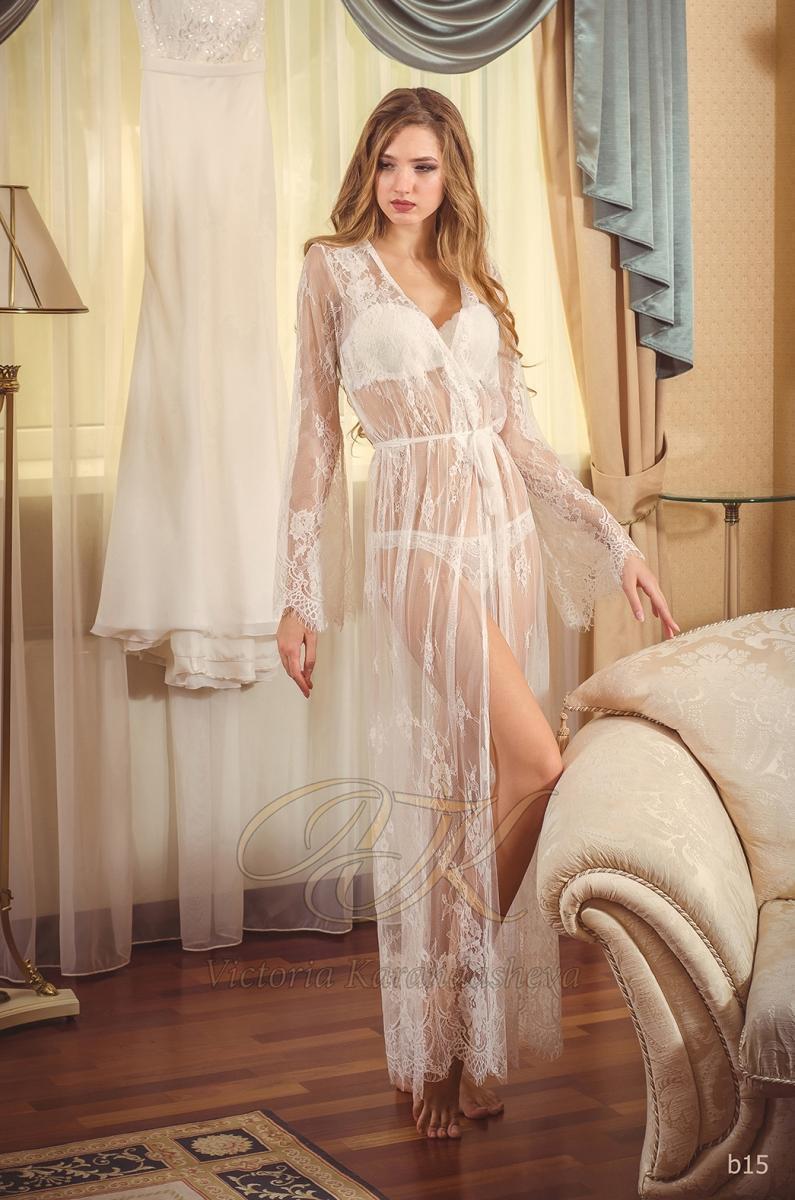 Budoárové šaty Victoria Karandasheva b15