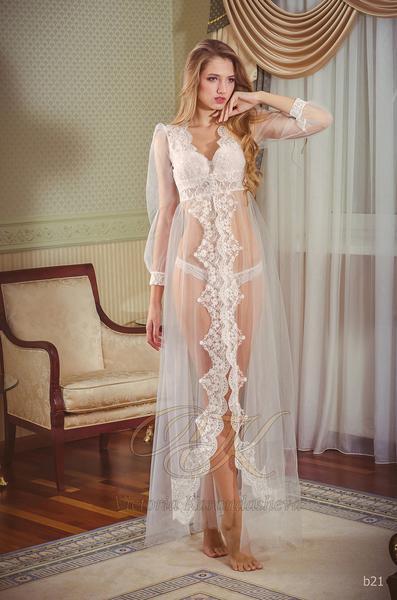 Budoárové šaty Victoria Karandasheva b21