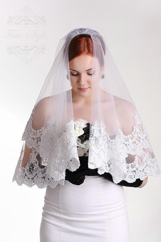 Свадебная фата Fata Style Бриджит