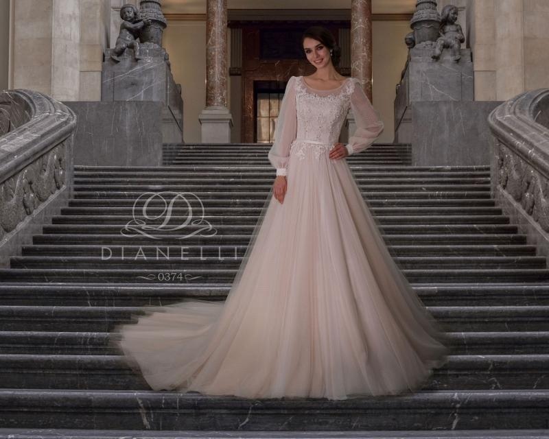 Свадебное платье Dianelli 0374