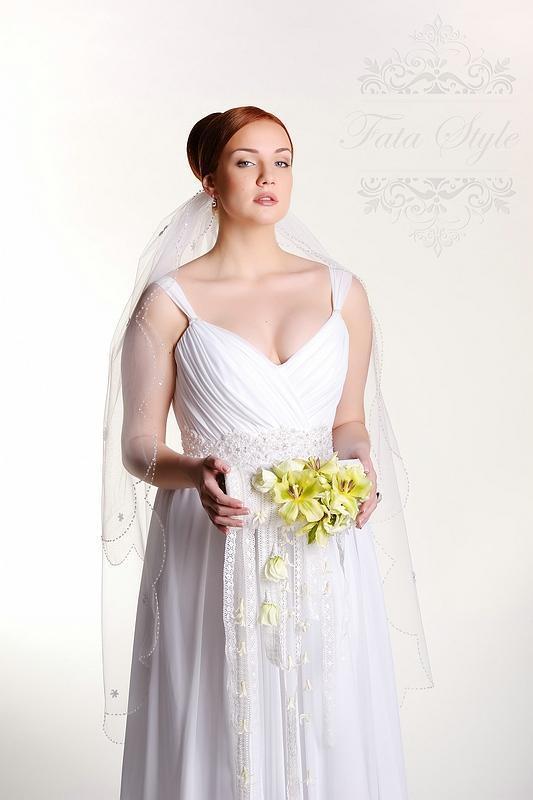 Welon ślubny Fata Style Джулия