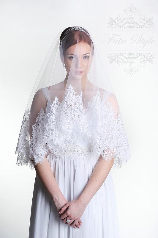 Свадебная фата Fata Style Элен2
