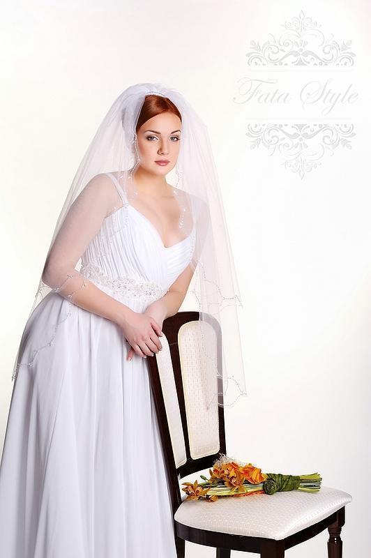 Brautschleier Fata Style Эрика