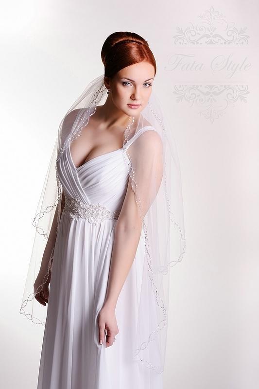 Brautschleier Fata Style Ивона