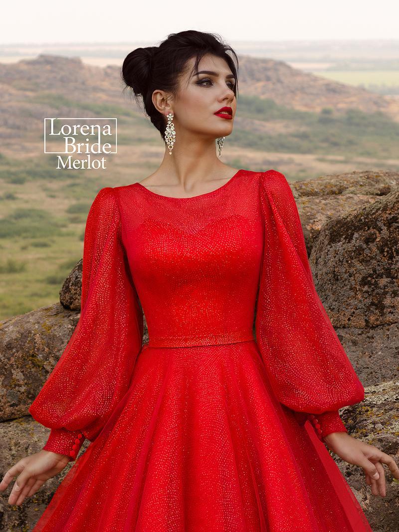 Свадебное платье Lorena Bride Merlot