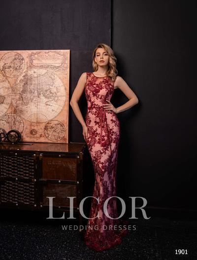 Abendkleid Licor 1901