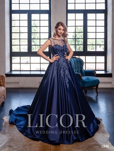 Abendkleid Licor 1940
