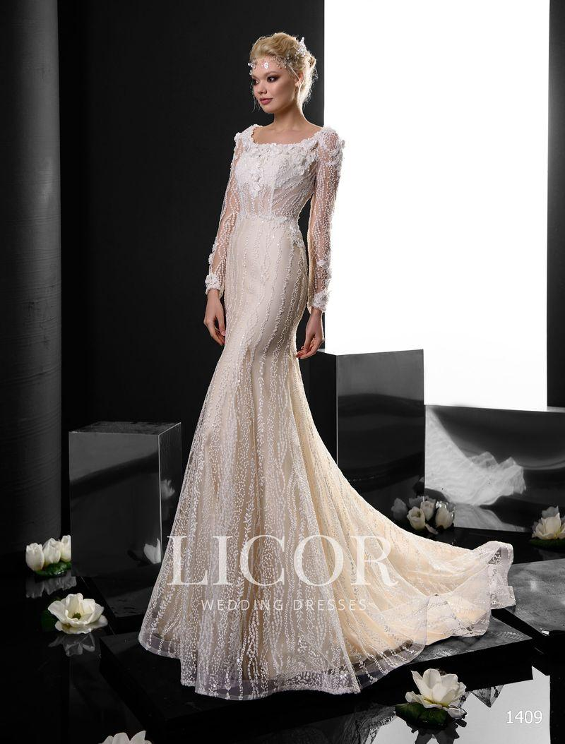 Brautkleid Licor 1409