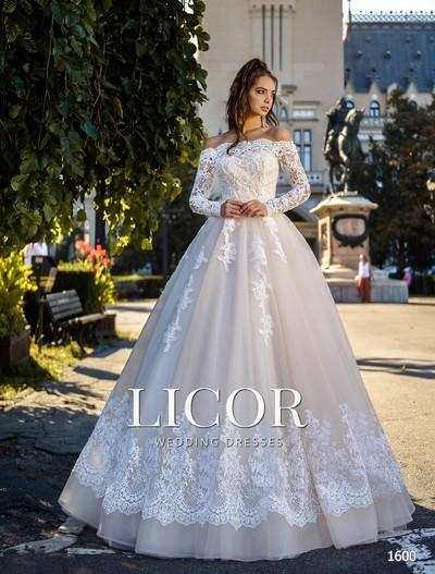 Свадебное платье Licor 1600