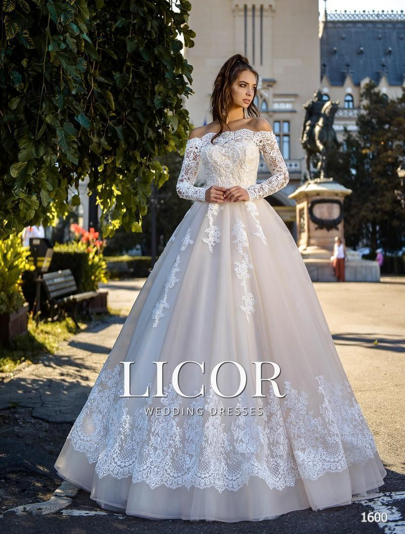 Brautkleid Licor 1600