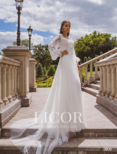 Brautkleid Licor 2000