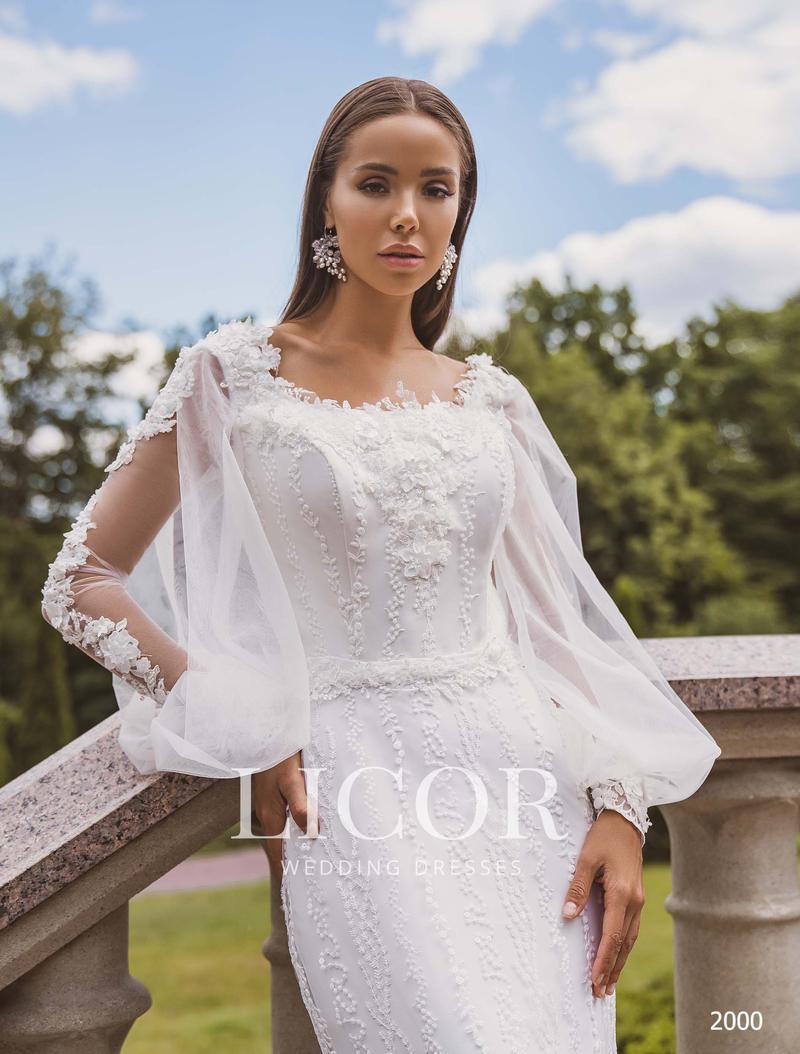 Свадебное платье Licor 2000