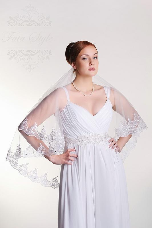 Brautschleier Fata Style Лора