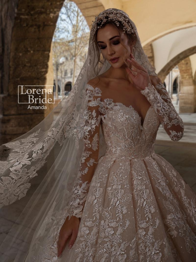 Wedding Dress Lorena Bride Amanda