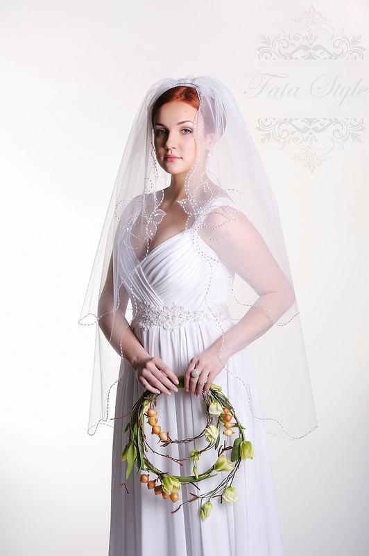 Brautschleier Fata Style Луиза