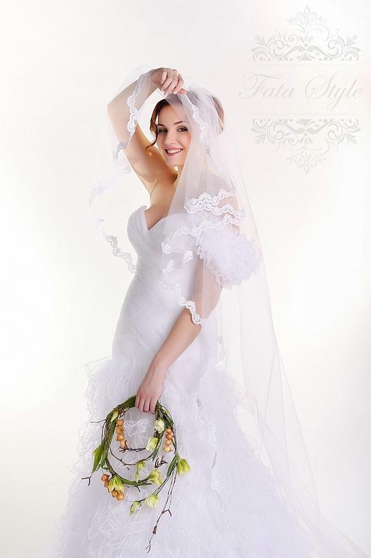 Brautschleier Fata Style Мария