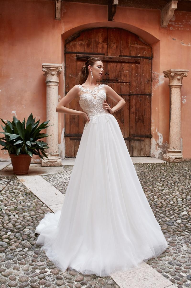 Brautkleid Jasmine Empire Navi