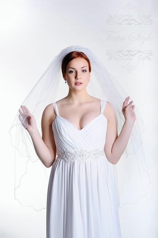 Welon ślubny Fata Style Нинель