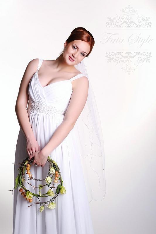 Welon ślubny Fata Style Ольга