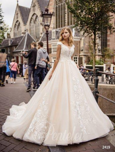 Vestido de novia Pentelei 2419