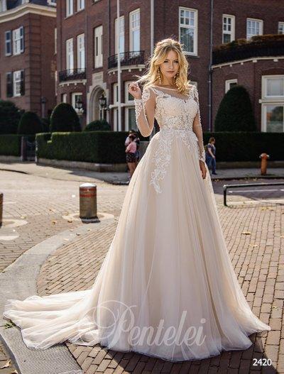 Vestido de novia Pentelei 2420