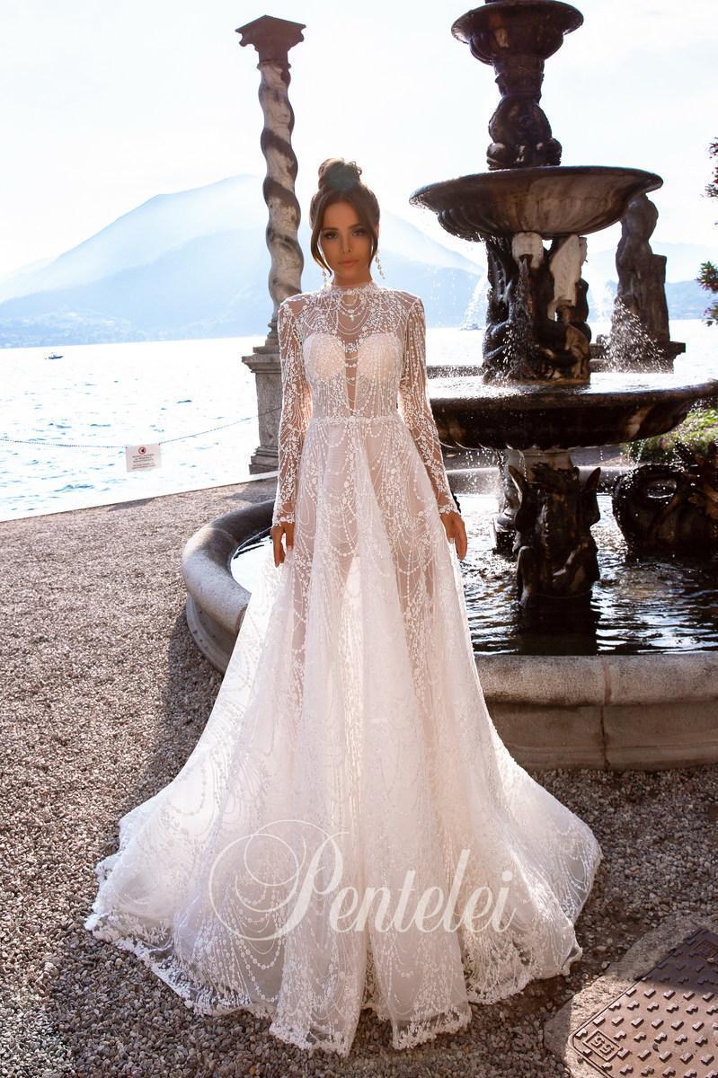 Vestido de novia Pentelei 5013