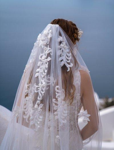 Wedding Veil Silviamo F-064