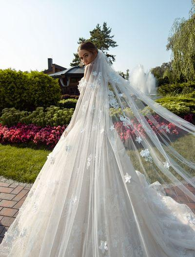 Wedding Veil Silviamo F-067