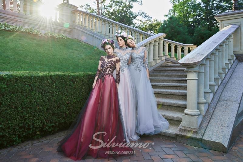 Вечернее платье Silviamo V-163