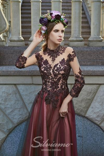 Evening Dress Silviamo V-163