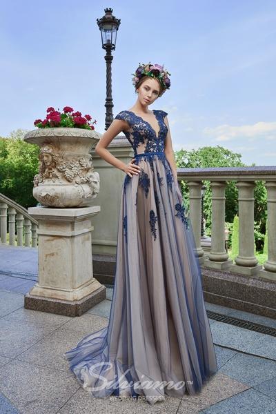 Suknia wieczorowa Silviamo V-164