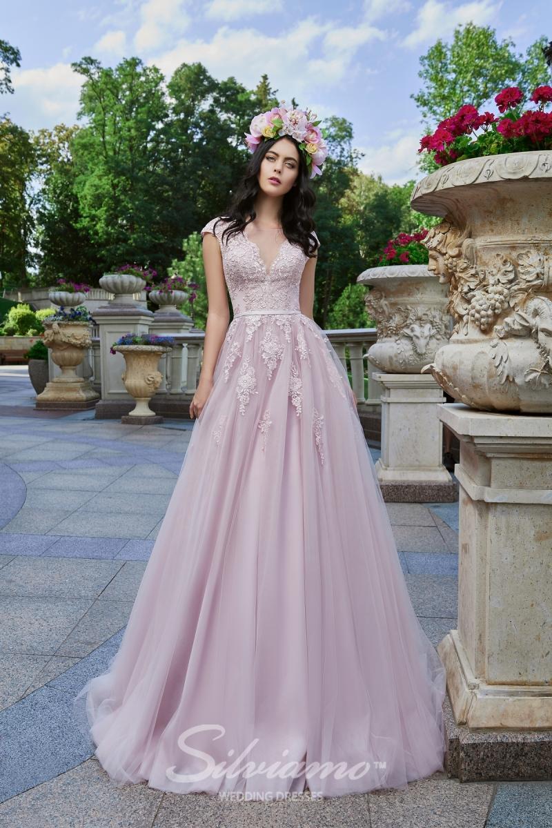 Вечернее платье Silviamo V-164