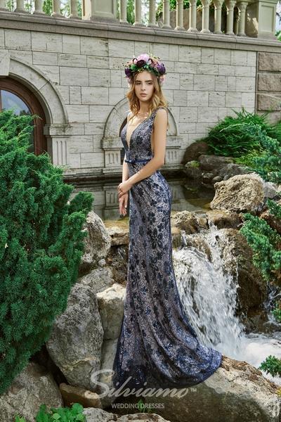 Вечернее платье Silviamo V-171