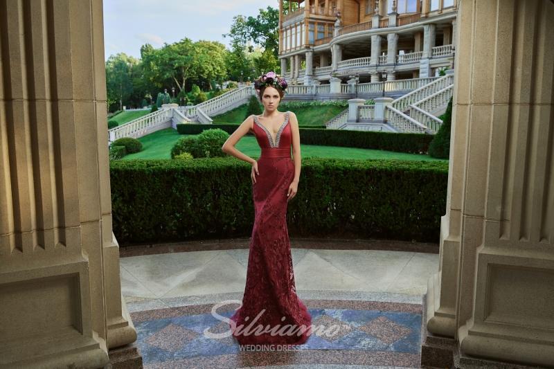 Вечернее платье Silviamo V-173
