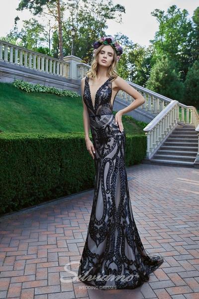Вечернее платье Silviamo V-175