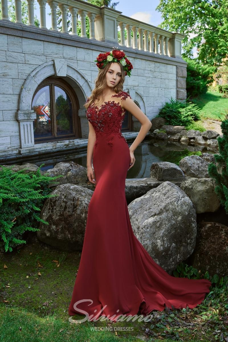 Вечернее платье Silviamo V-176
