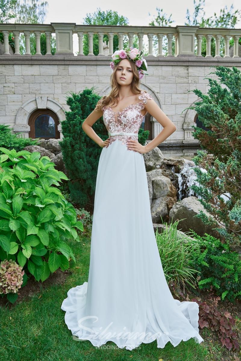 Вечернее платье Silviamo V-177