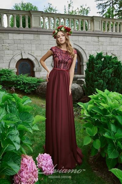 Вечернее платье Silviamo V-178