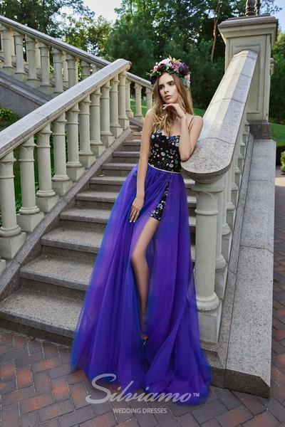 Вечернее платье Silviamo V-179