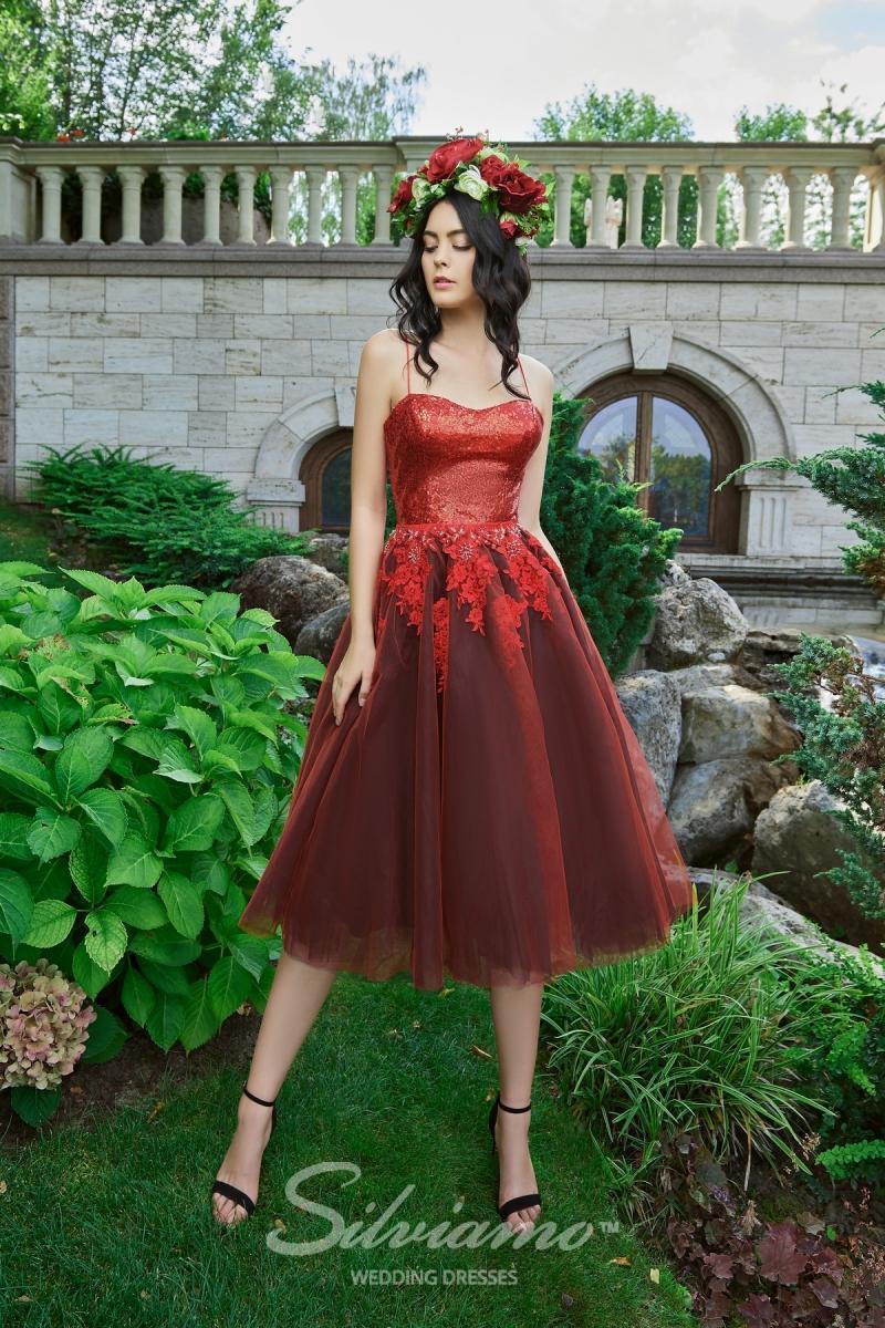 Вечернее платье Silviamo V-180