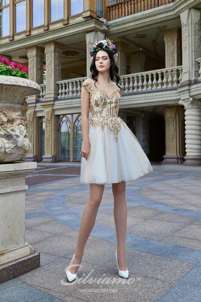 Suknia wieczorowa Silviamo V-181