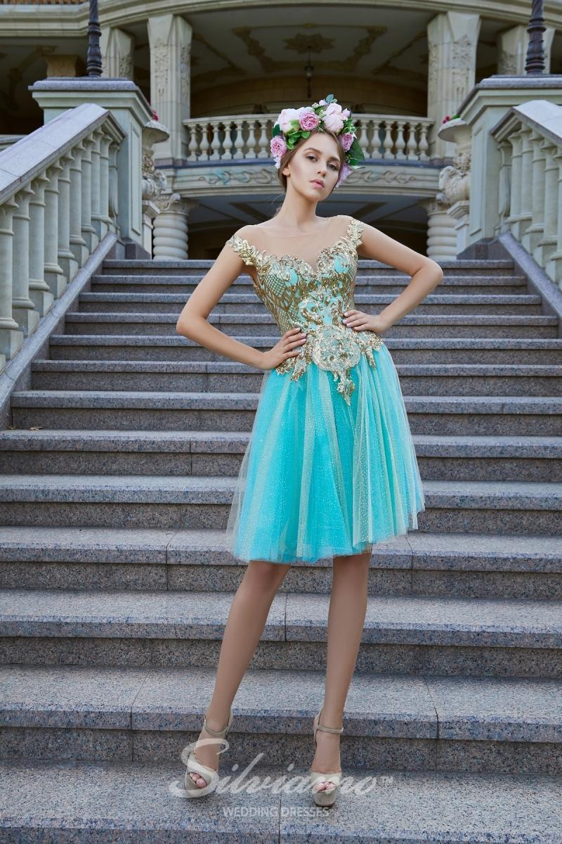 Вечернее платье Silviamo V-181