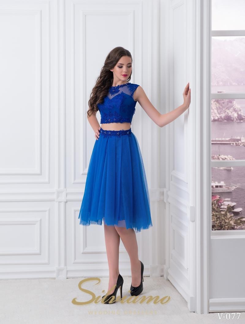 Вечернее платье Silviamo V-077