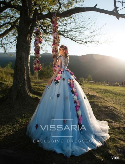 Evening Dress Vissaria V001