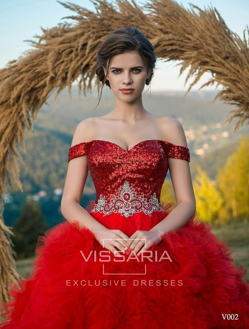 Evening Dress Vissaria V002
