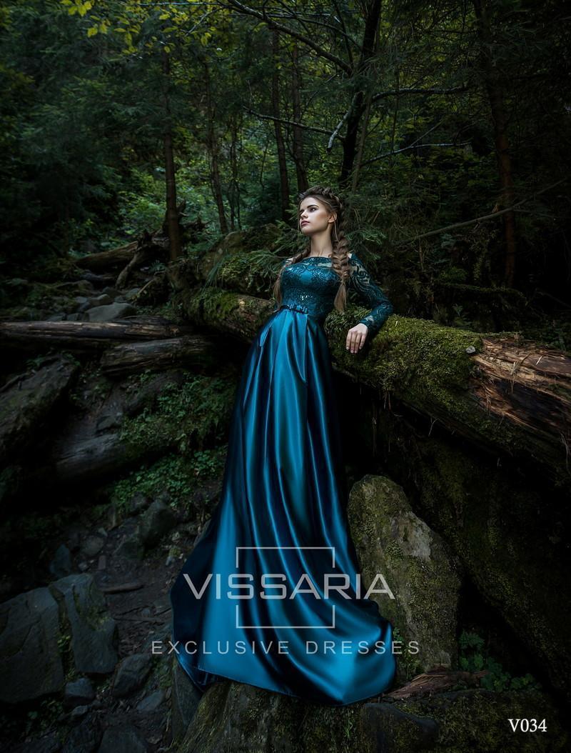 Abendkleid Vissaria V034