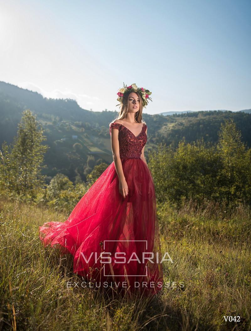 Abendkleid Vissaria V042