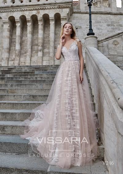 Suknia wieczorowa Vissaria V246